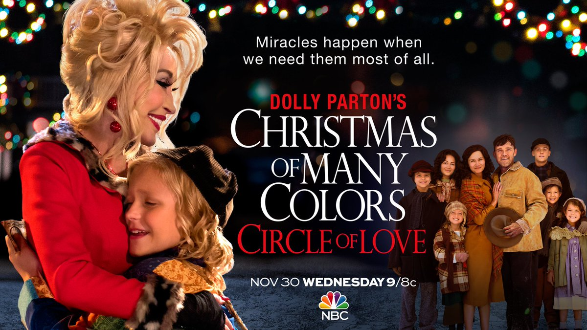 dolly parton on twitter tonight is the night tune in to nbc at 9pm et8pm ct for christmas of many colors circleoflove - All About Christmas Eve Cast