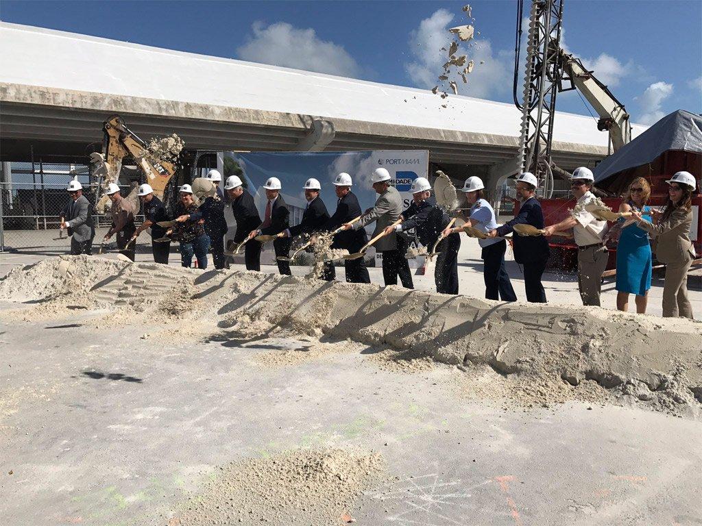 MSC Cruises and PortMiami Break Ground on New Cruise Terminal #Cruise https://t.co/6rX4mDHnJo https://t.co/hOfBdkt5rE