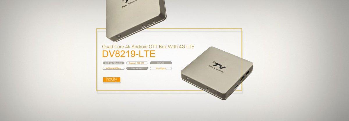 Android #OTT # 4G # LTE #tv box for #telecom company