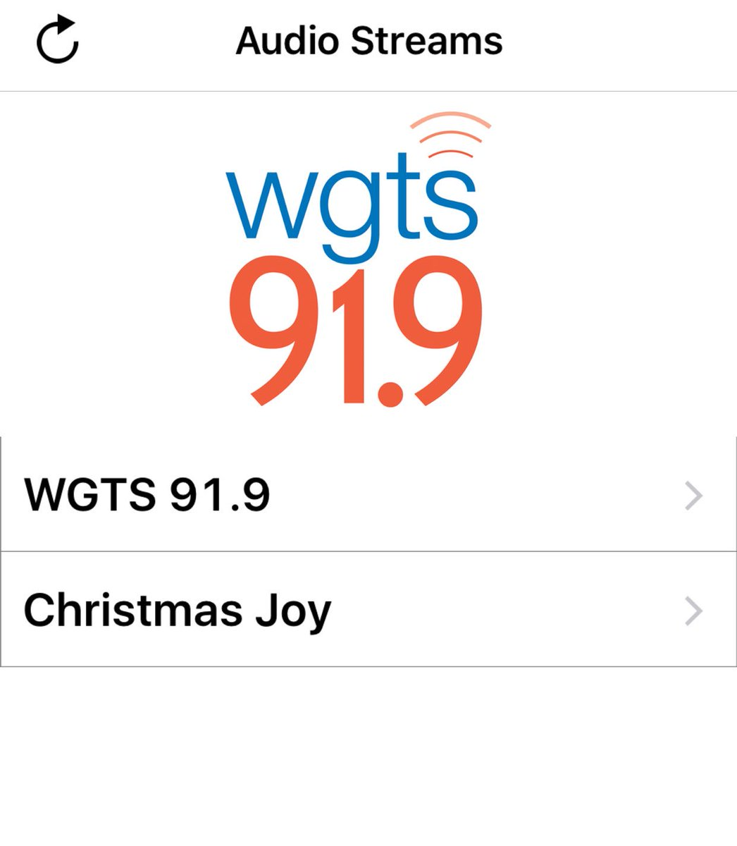 Streaming Christmas Music.Wgts 91 9 On Twitter We Love Christmas Music We Re