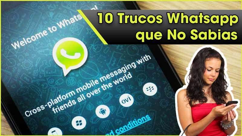 10 Trucos en Whatsapp que NO Sabias y DEBES Conocer! Lee el Post Completo aquí: https://t.co/laBBoGqWH4 https://t.co/5hts2xKNW2