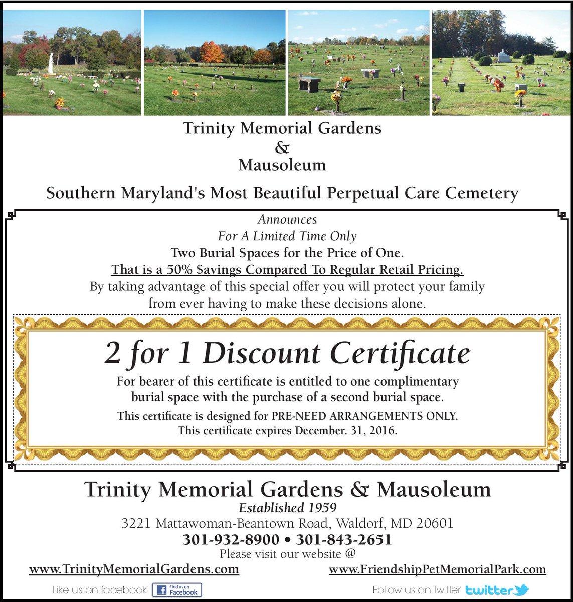 Trinity Memorial Followed
