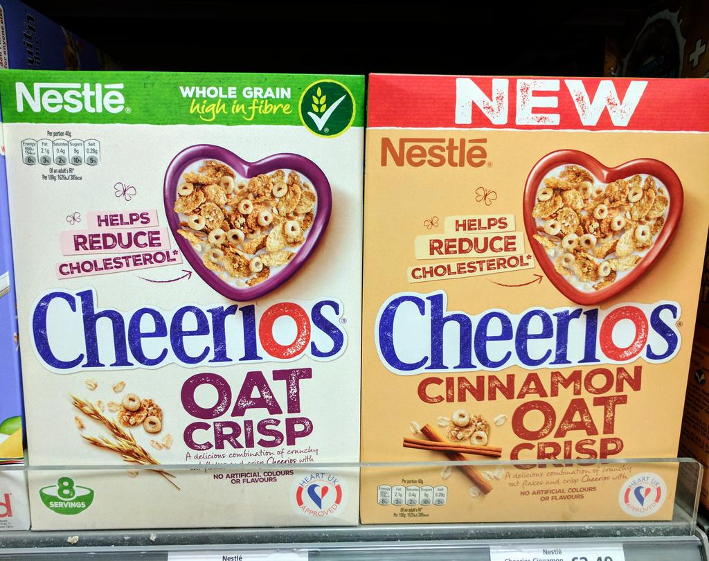Heart UK endorse Cheerios  Cyia61XXEAE5CCA
