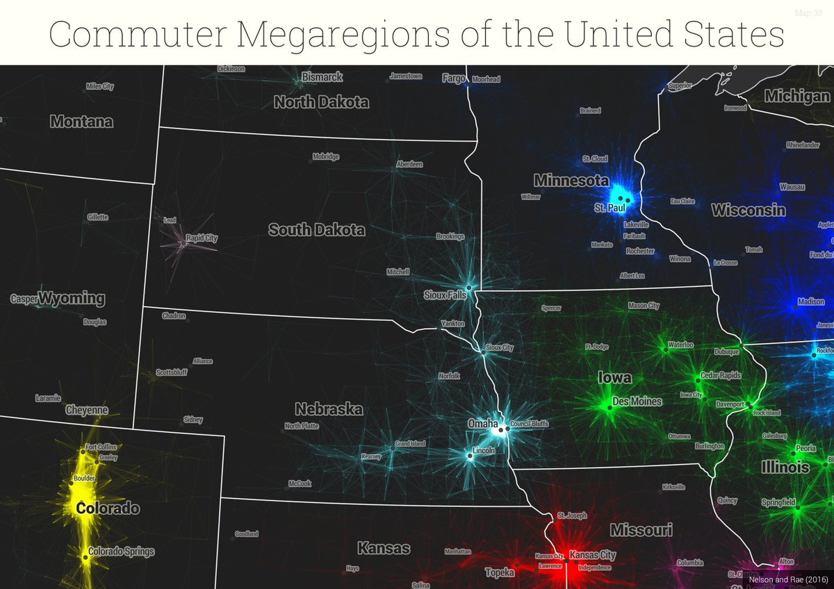 Garrett Dash Nelson On Twitter Hot Off The PLOSONE Presses - The megaregion map of the us dartmouth