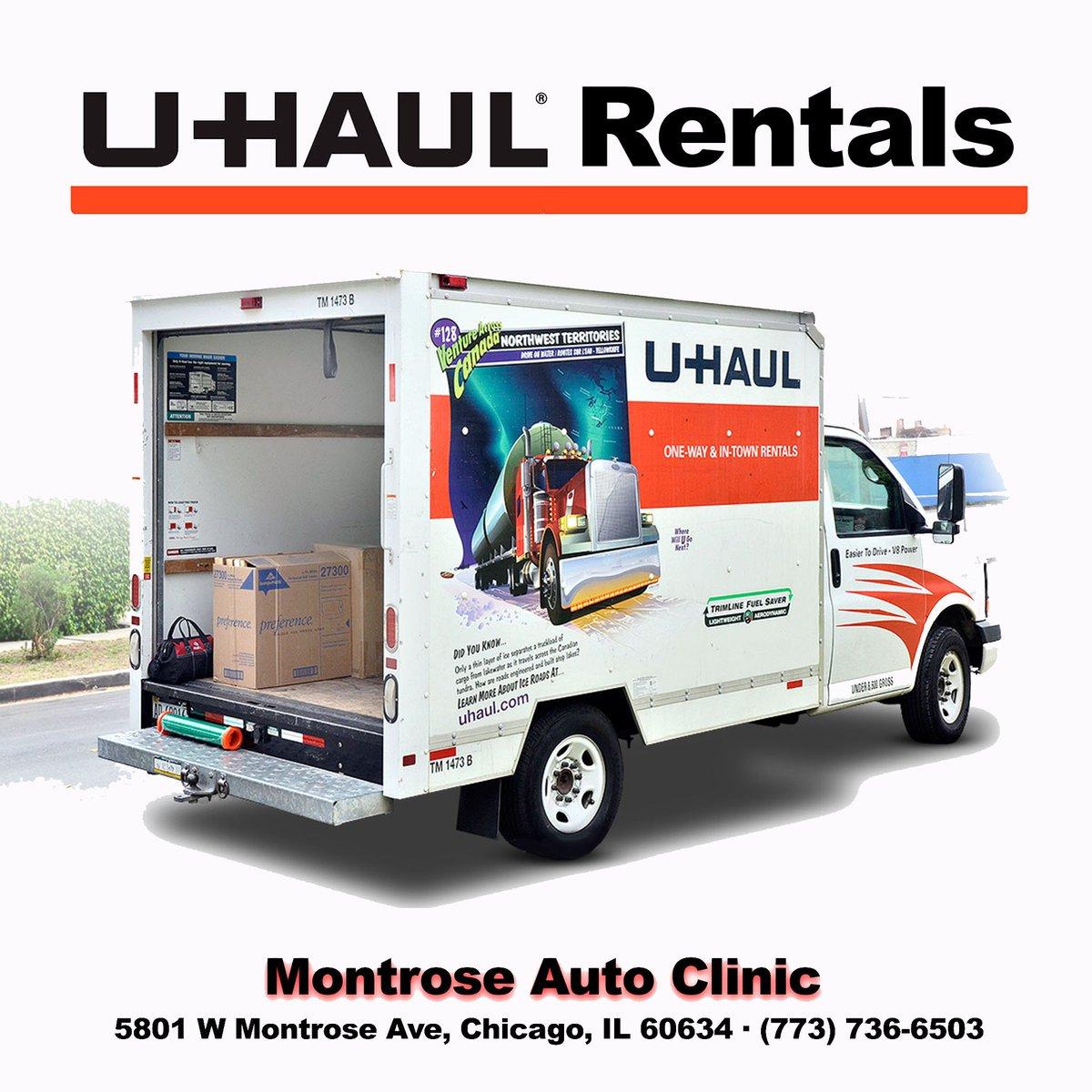 Uhaul Rental Quote Montrose Auto Clinic Montrose_Auto  Twitter
