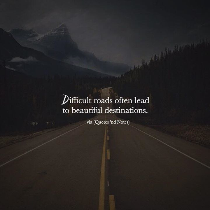"""Computer Wallpaper Quotes: Quotes 'nd Notes On Twitter: """"Difficult Roads Often Lead"""