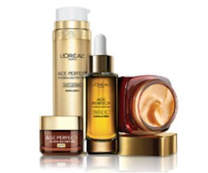 FREE L'Oreal Paris Age-Perfect Sample Pack