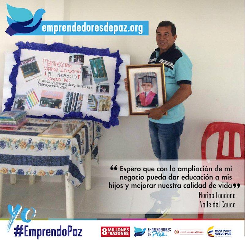 Vidrios y espejos para reflejar esperanza, es el negocio de Marino #ValleDelCauca https://t.co/QyR8rd5mq8 #EmprendoPaz #8MillonesDeRazones https://t.co/X6xJH223q0