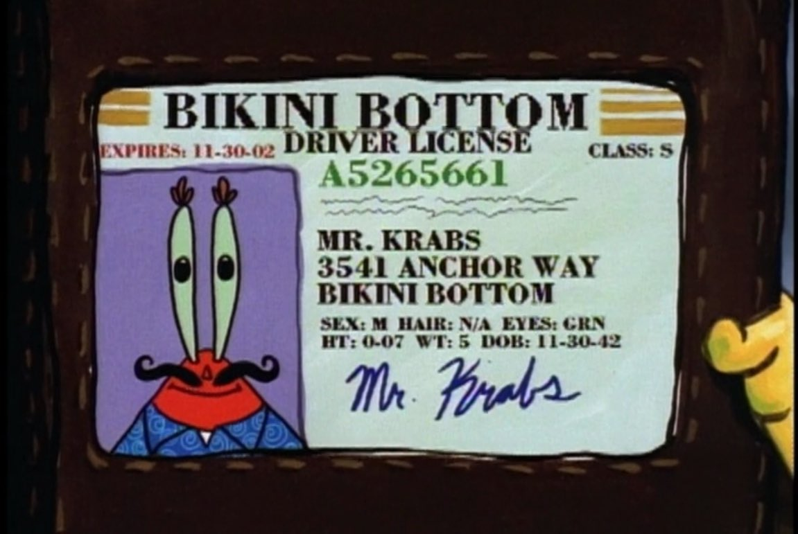 Today, November 30th, is Mr. Krabs' birthday. Happy 75th birthday, Eugene. https://t.co/o1JR6eFjwU