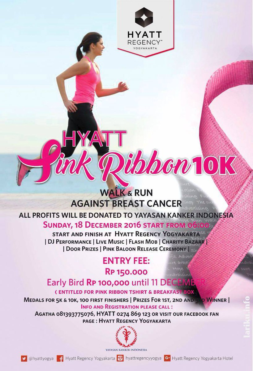 Hyatt Pink Ribbon - Yogyakarta