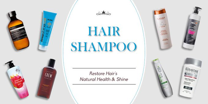 Buy Top Branded Hair Shampoo Online in India at Best Price