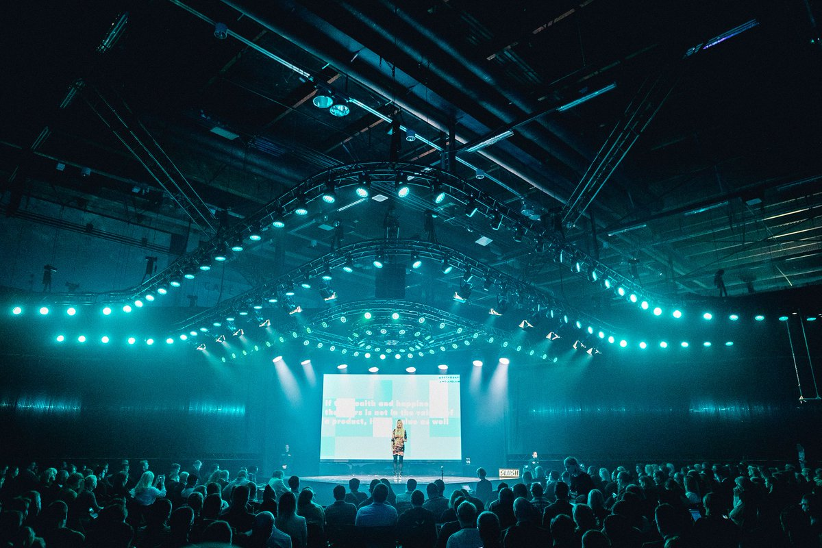 Good morning #slush16! Enjoy Day 1 in pictures on your way to the venue here: https://t.co/4E9b5oOuGm