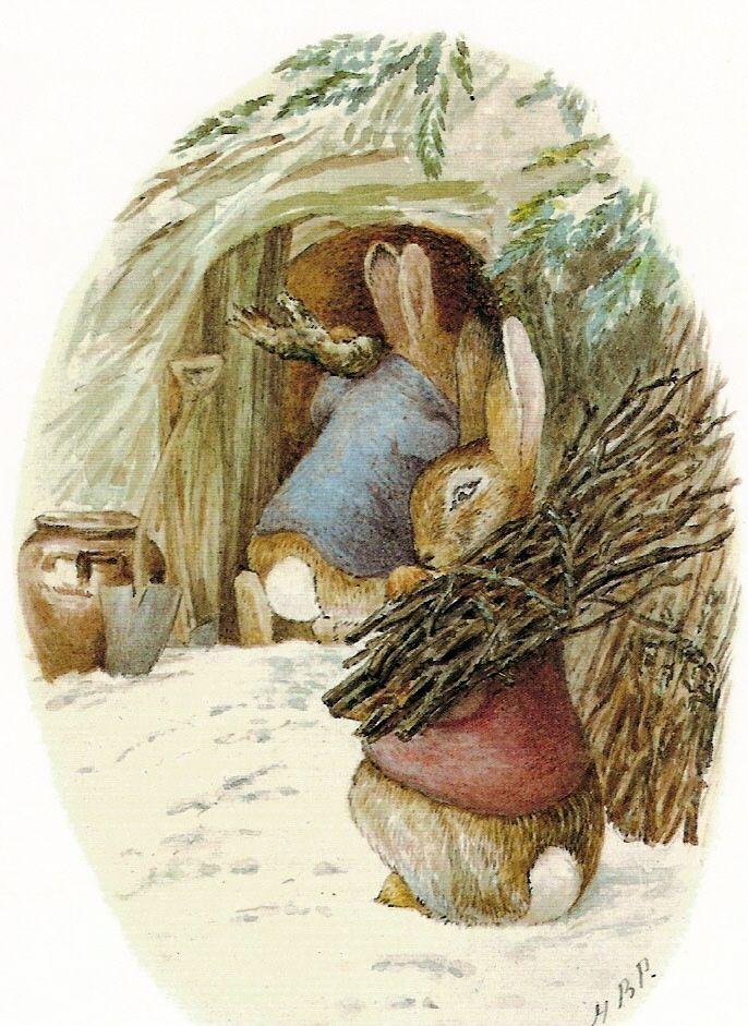 Для, открытки кролик питер