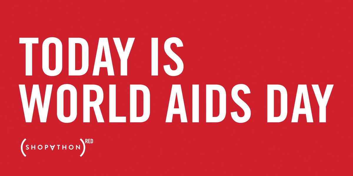 Today is #WorldAIDSDay. Retweet if you're with @RED in the fight to #endAIDS. https://t.co/xqu2YSkcyd