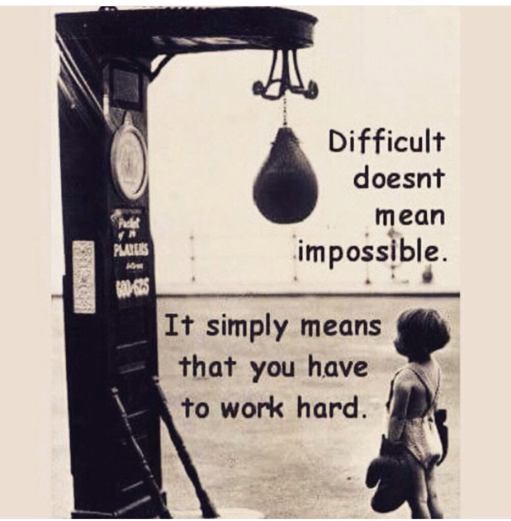 4. Difficult does not mean impossible 4. Difficult does not mean impossible new pictures