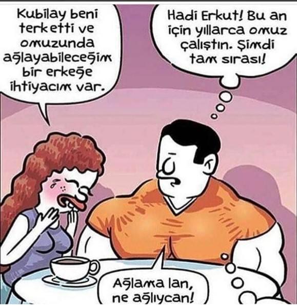 Karikatür on Twitter: Ağlama lan…