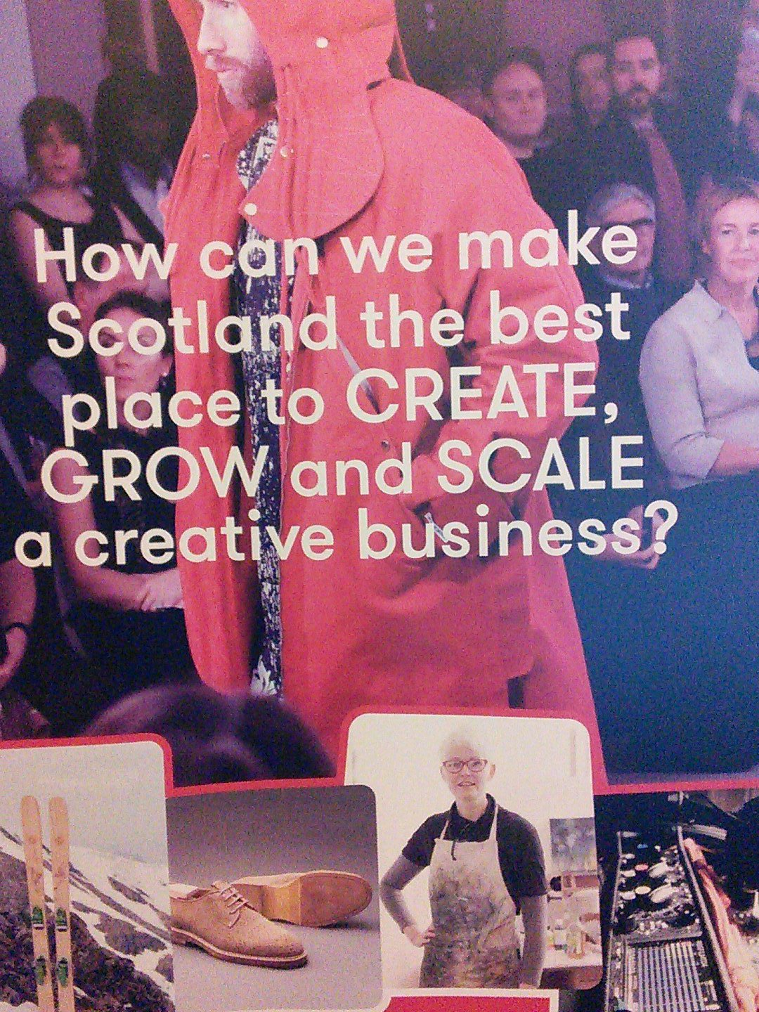 #ScotEcon16 @CEOScotland come and talk to us about a creative industry strategy for you region. https://t.co/daJmK7IApa