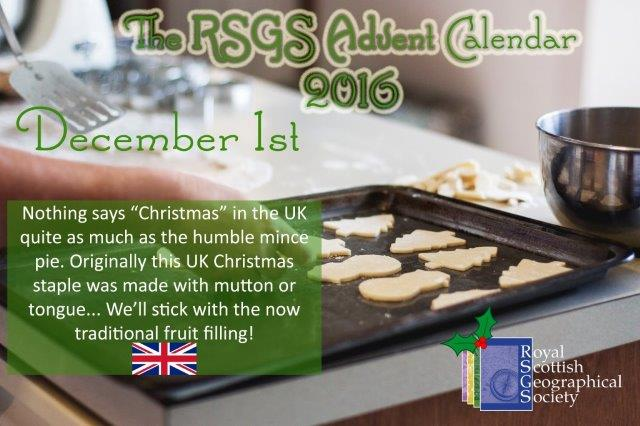 Here's door one on our #AdventCalendar This year we are sharing global #Christmas food traditions and Christmas quotes! #geographyteacher https://t.co/1NAQwE6zlE