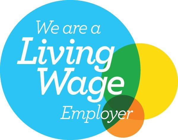 I am proud to be a Living Wage Employer!
