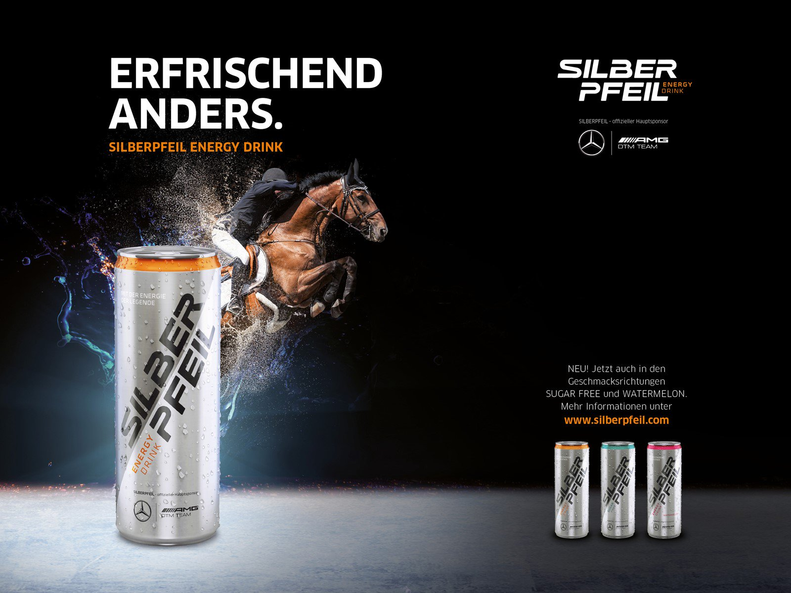 Silberpfeil Energy Drink
