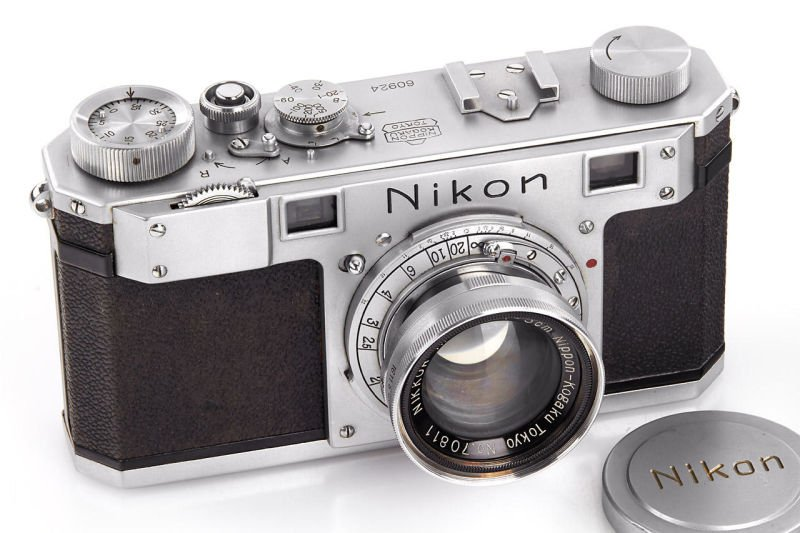 The third Nikon camera ever built just sold for $406,000 in auction