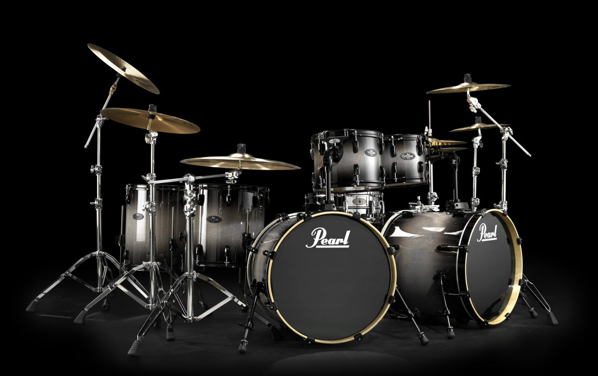 Pearl Drums Europe On Twitter Vision Double Bass Set Up Pearldrums Drummers Reference Drumporn Drumset Drummer Instadrums