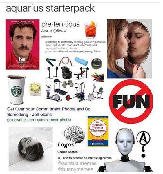 Aquarius starter pack