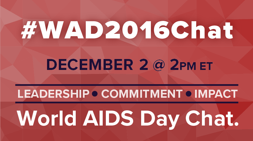 Check out the #WAD2016Chat tomorrow @ 2pm ET! This year's theme is Leadership. Commitment. Impact. https://t.co/eOOLKFW3zh