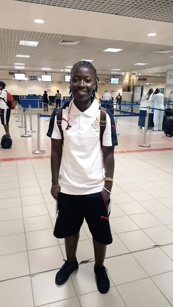 Ghana captain Elizabeth Addo excited to be nominated for Africa Women's player award