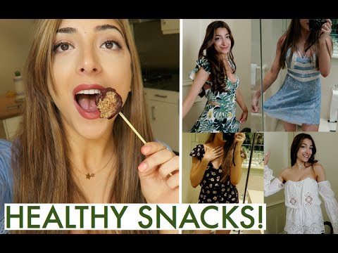 YUMMY HEALTHY CHANGES & TRY-ON SUMMER HAUL!