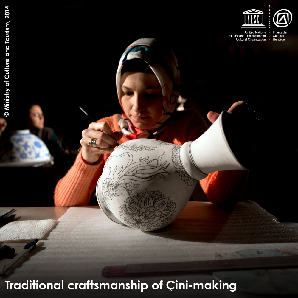 Just inscribed on the Representative List of #IntangibleHeritage https://t.co/72rY0q6533 #Turkey