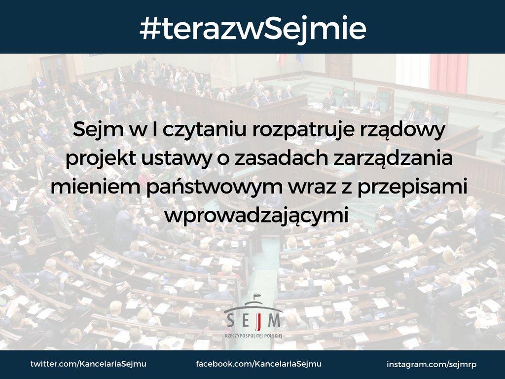 Likwidacja @MSP_GOV_PL do końca 2016 r. Posłowie rozpoczęli prace nad rządową propozycją zmian #Sejm @PremierRP https://t.co/odjPcYv5WS