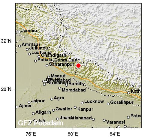उत्तराखंड के कई हिस्सों में भूकंप के झटके