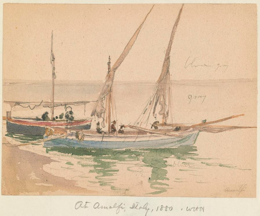 V. 5 of Holmes' Random Records added to #ManyHatsofHolmes project at @TranscribeSI w/ nautical watercolors : https://t.co/5vCLPbr7E2 https://t.co/8uxQS75WTZ