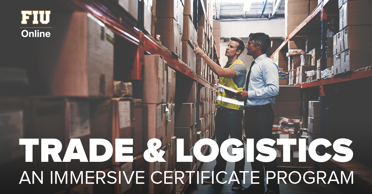 Fiu On Twitter Advance Your Career In Trade And Logistics With Our