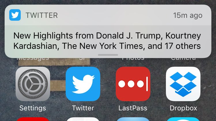 It would be hard to describe the problem better and more concisely than this notification https://t.co/I1PqWBPSiU