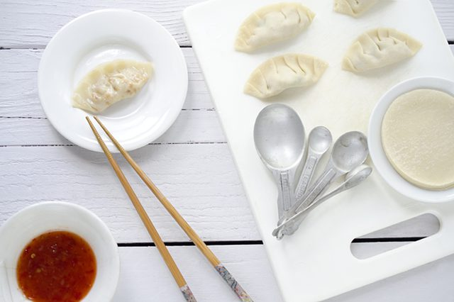 Fresh and Easy Pork Dumplings