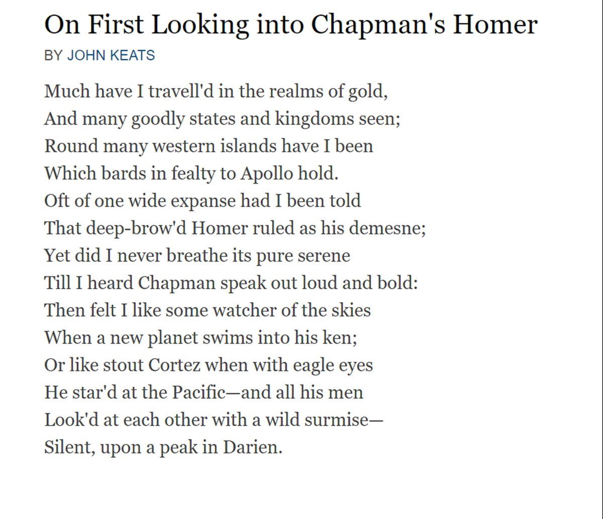 Into chapmans homer