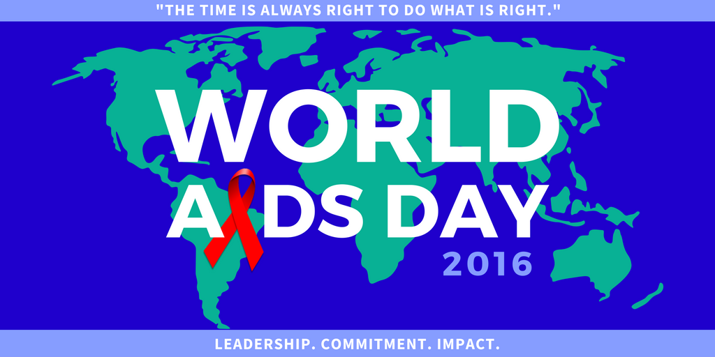 This #WorldAIDSDay, we must recommit to the fight to #EndAIDS2030 through education, prevention & research. #WAD2016 https://t.co/He8x91YJnu