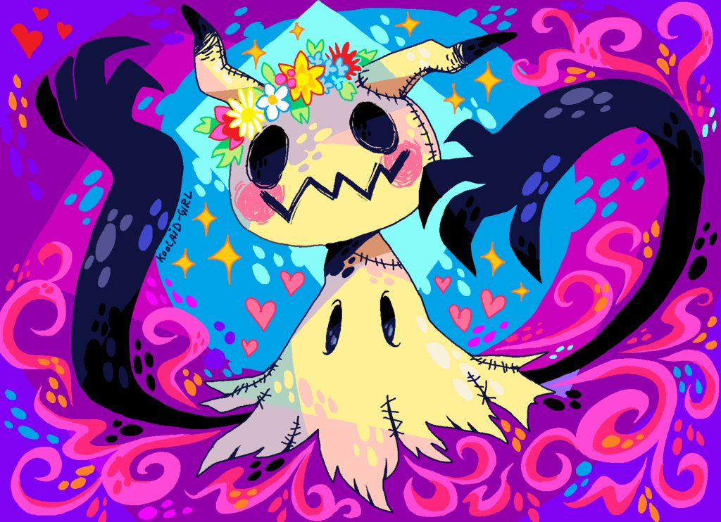 deviantart on twitter mimikkyutie features vibrant colors and a
