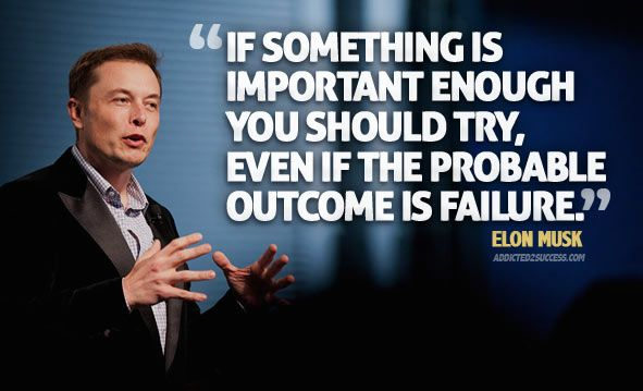 """Elon Musk News on Twitter: """"""""If something is important enough you ..."""