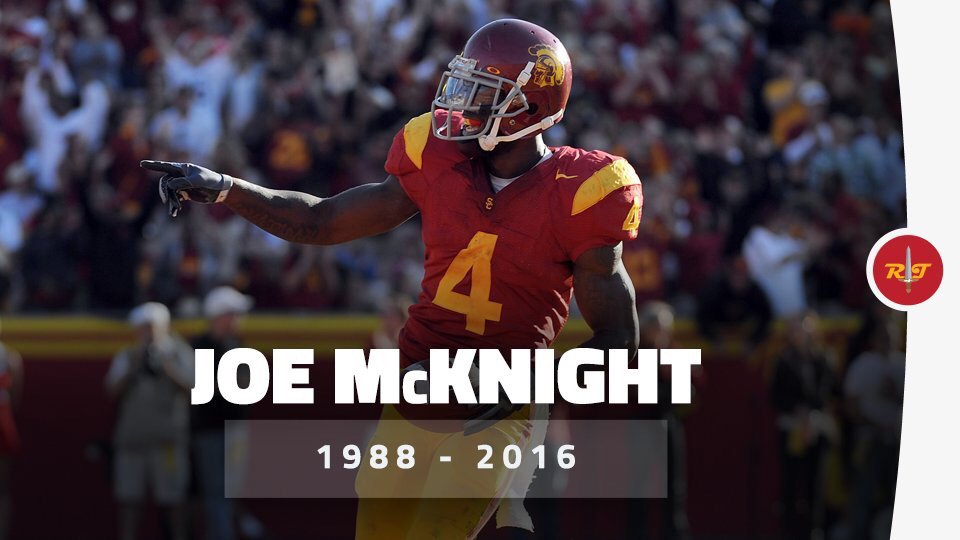 RIP to my Trojan Brother Joe McKnight! #sad #FightOn https://t.co/qKqvS0TWeJ