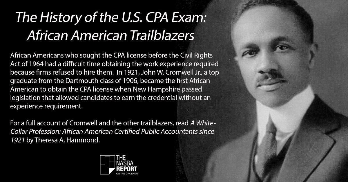 a whitecollar profession african american certified public accountants since 1921