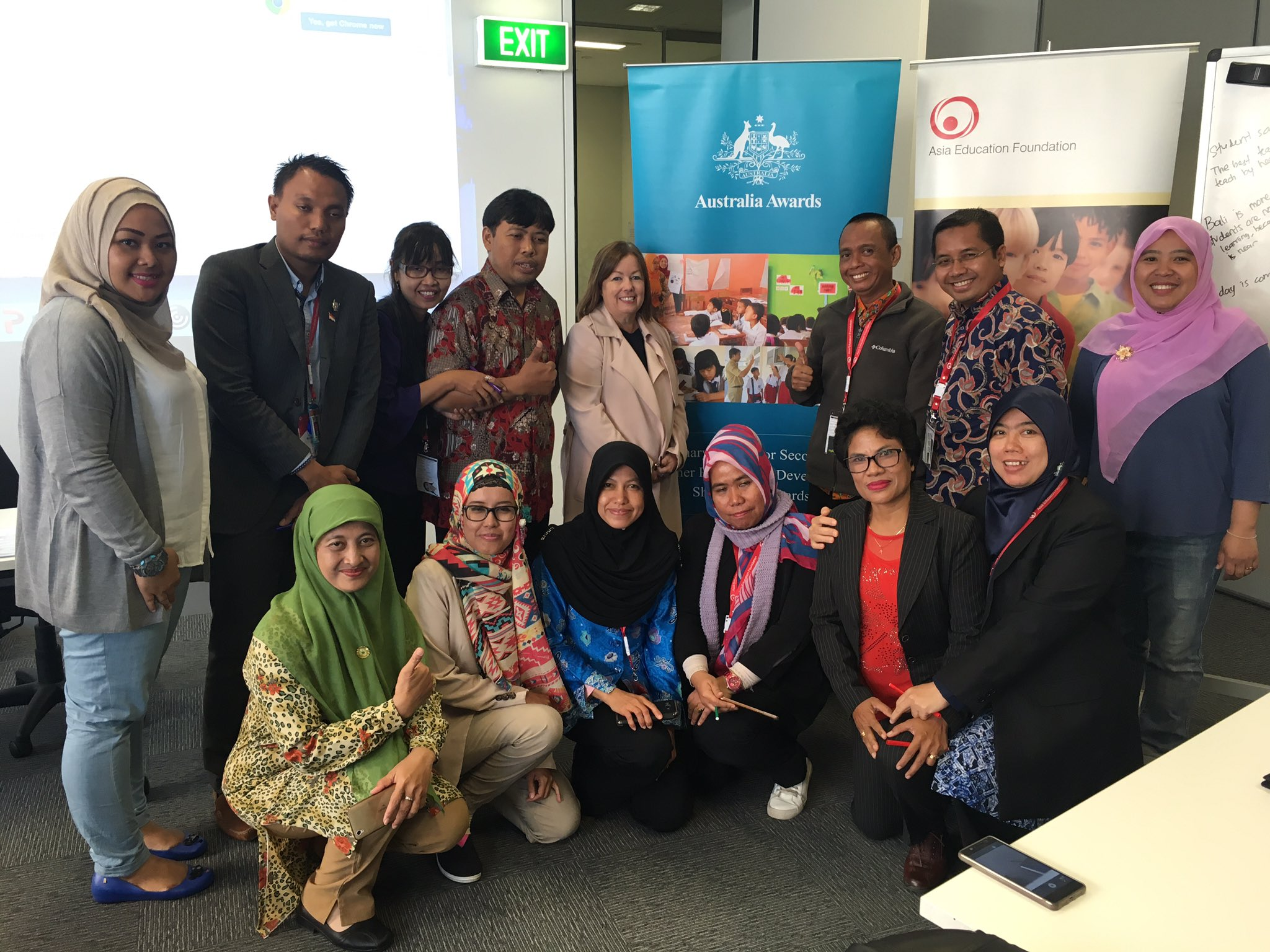 Many new friendships have been established across 🇦🇺 & 🇲🇨! Thanks @AustraliaAwards @LisaHayman1 @BonnieHermawan @a_oshannessy #OzAlum https://t.co/SnX4aAK4uU