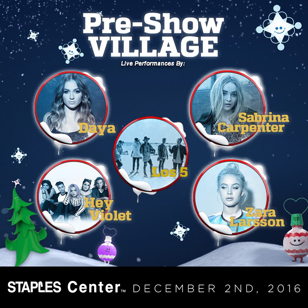 Our #KIISJingleBall Village is FREE and has a