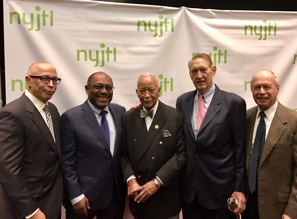 bill hills on twitter great fun attending the nyjtl awards lunch w david dinkins jr honoring mayor david dinkins and nick bollettieri https t co sfmiyklwff twitter