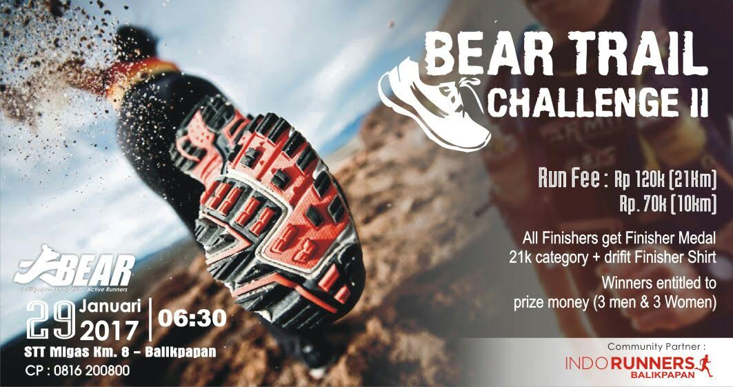 Bear Trail Challenge II ~ 2017