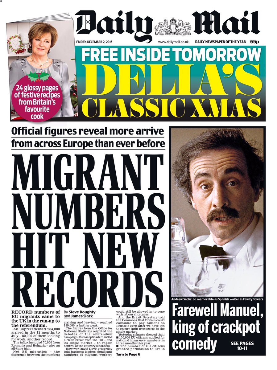 Andrew Sachs was of course a migrant.   https://t.co/h9twRArehI