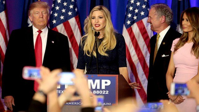 this is YUGE: as a powerhouse businesswoman who LOVES being a mother to little ones, no #FossilFuel old boys can standup to #IvankaTrump !