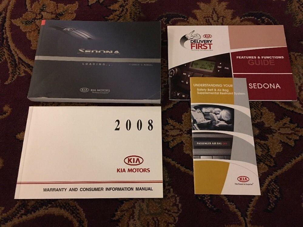 2008 kia sedona maintenance manual
